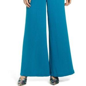 Leith Blue pallazo pants colors Blue size medium